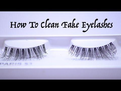 How To Clean Fake Eyelashes   Vaisshali Babbar
