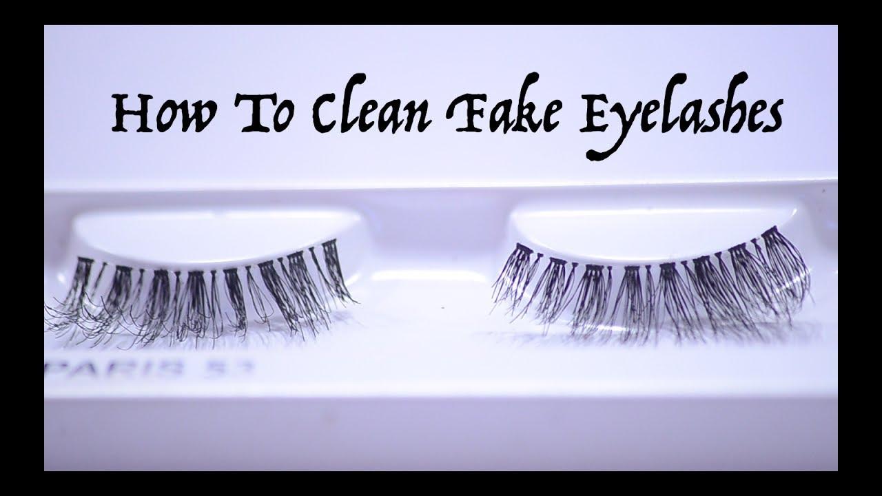 2a520a7937a How To Clean Fake Eyelashes | Vaisshali Babbar - YouTube