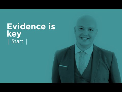 Evidence is Key | Tender VLE