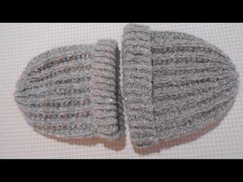 Видео: Шапочки из мягкой пряжи / Вязание спицами