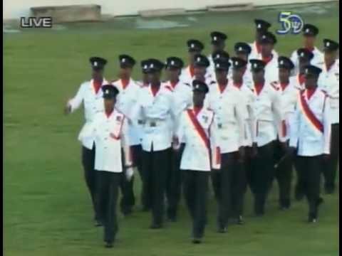 Barbados 50th Anniversary Independence Parade part 1