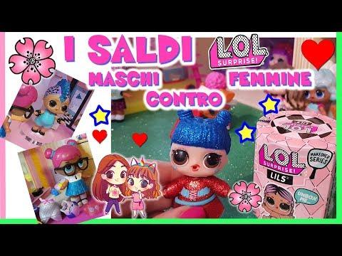 MASCHI CONTRO FEMMINE ai SALDI. Storia + LILS= Famiglia Lol Completata! by Lara e Babou