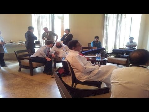 Controversy erupts after Chidambaram seen with Taliban leader