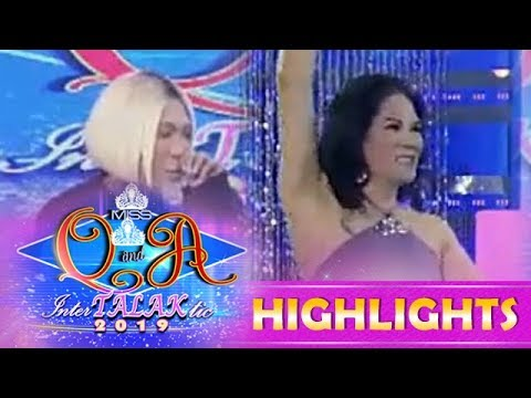 It's Showtime Miss Q & A: Vice Ganda notices something on Amparo's armpits