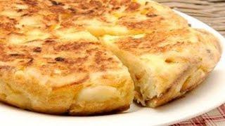 Картофель запеченный или испанская тортилья