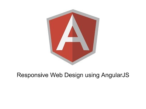 Responsive Web Design using AngularJS