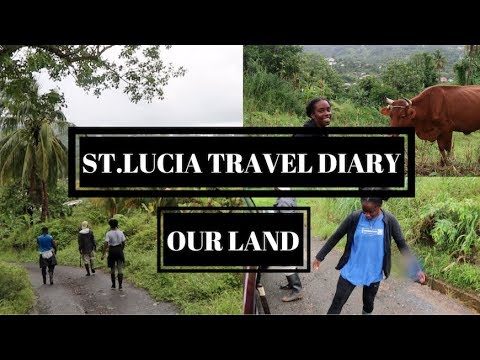 ST.LUCIA TRAVEL DIARY: OUR LAND