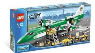Building Lego City Set 7734 Airplane