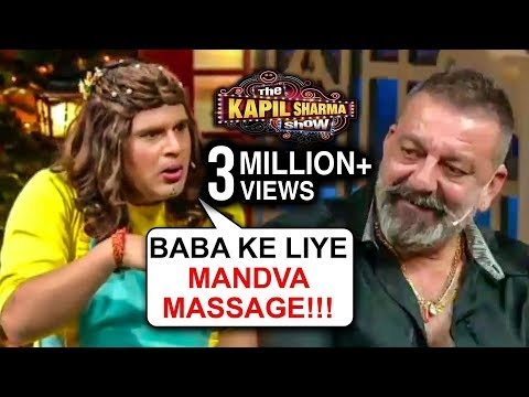 Krushna Abhishek aka Sapna MAKES FUN Of Sanjay Dutt, Chunkey Panday | The Kapil Sharma Show