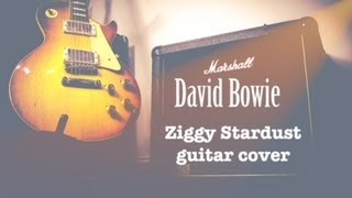 ziggy stardust   David bowie guitar cover