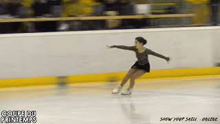 三原 舞依 / Mai Mihara - Coupe Du Printemps SP from March 16, 2018 - Luxembourg