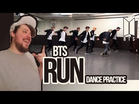 Mikey Reacts to BTS 'Run' Dance Practice