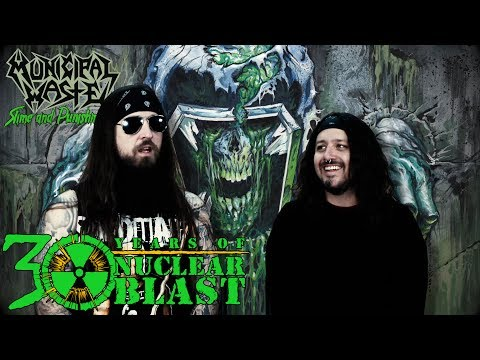 MUNICIPAL WASTE - Album Production: Slime and Punishment (OFFICIAL INTERVIEW)