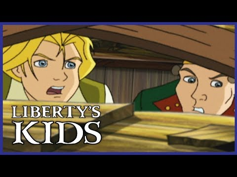 🇺🇸 Liberty's Kids 123 - The Hessians Are Coming | History Cartoon For Kids 🇺🇸