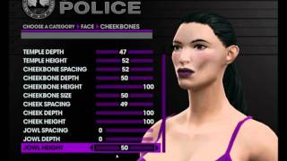 Saints Row 3 HD First Impressions- Char Creation Female (Part 1 of 2)