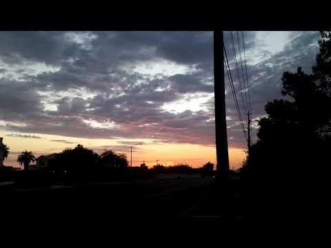 Not normal sunrise.