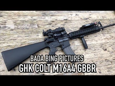 GHK Colt M16A4 GBB V2 Build