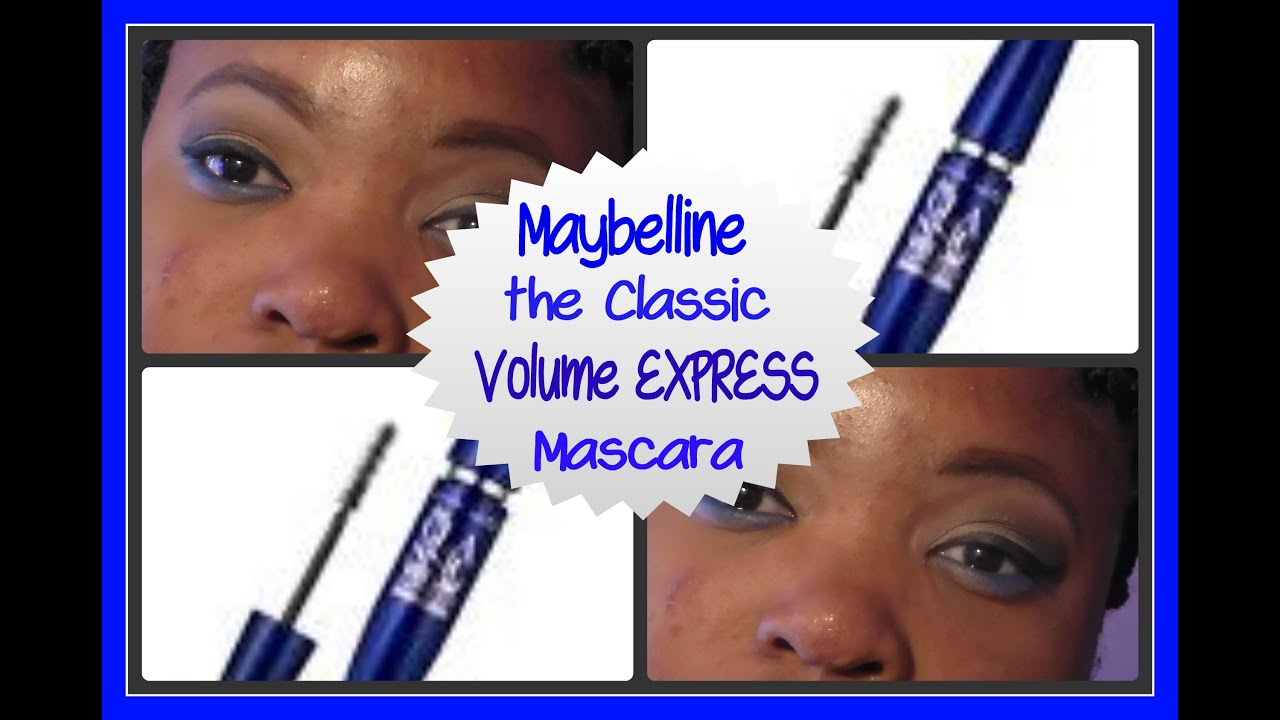 1898972a016 First Impressions + Demo: Maybelline the Classic Volume Express Mascara