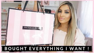 HUGE HAUL!!! I BOUGHT EVERYTHING I WANTED FROM VICTORIAS SECRET