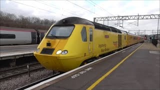 """NMT HST """"New Measurement Train"""" on the WCML! 04/01/17"""
