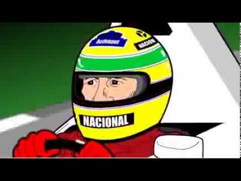 Vinte anos sem Ayrton Senna - Charge Animada