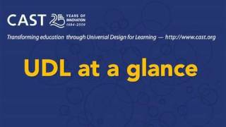 UDL At A Glance
