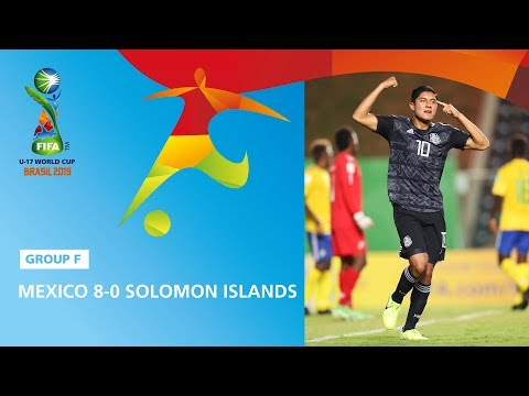 Mexico v Solomon Isl. Highlights - FIFA U17 World Cup 2019 ™