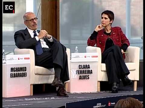 Mohamed ElBaradei - Estoril Conferences 2011
