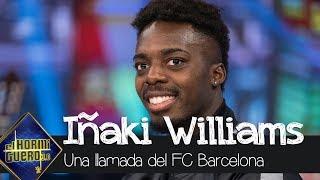 ¿Qué respondería Iñaki Williams si recibiera la llamada del FC Barcelona? - El Hormiguero 3.0