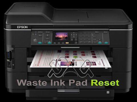 epson wf 7525 Waste Ink Counter reset