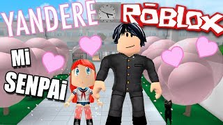 I KNOW MY SENPAI!! BUT DO NOT WANT ME!! | ROBLOX in Spanish ROLEPLAY