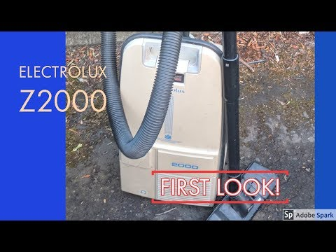 Electrolux Z2000 - First Look, Before Refurb!