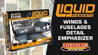 Liquid Pigments : How To Use - Wings & Fuselages Detail Emphasizer