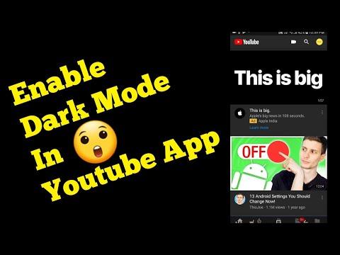 Enable Dark Mode on YouTube | TECH SIDE