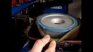 truckmount airfilter silencer