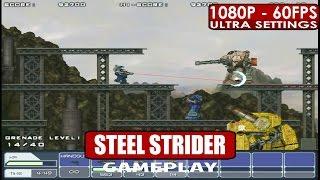 STEEL STRIDER gameplay PC HD [1080p/60fps]