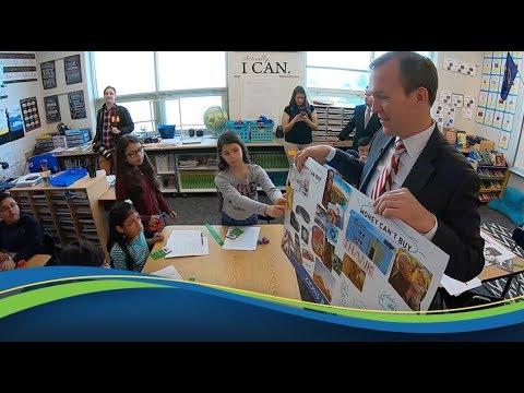 National Teach Children to Save Day 2019 - Granger Elementary School