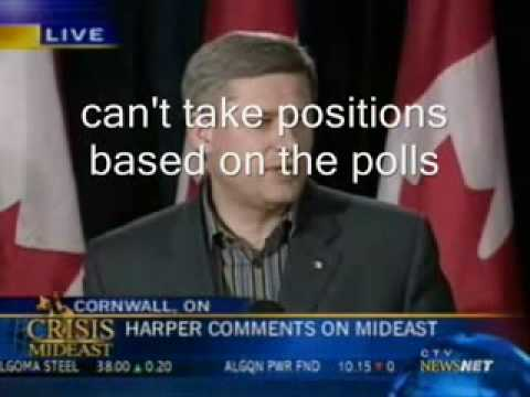 Stephen Harper taken out of context