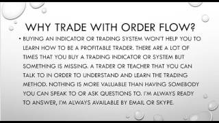 Orderflows Trader Presents   A 60 Minute Order Flow Trading Tutorial
