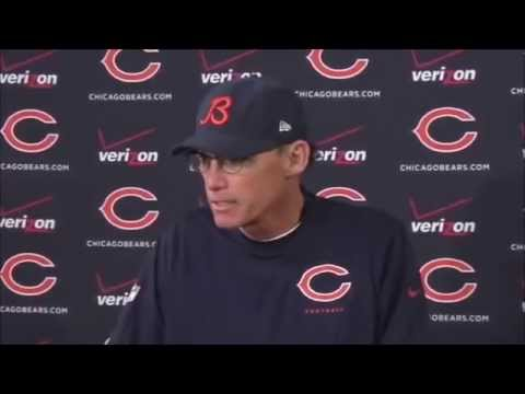 Angry Man Tells Marc Trestman What To Do....