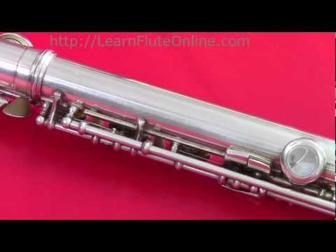 Learn Flute Online: How to fix a popped spring on a flute -Module 04 Online Flute Lessons