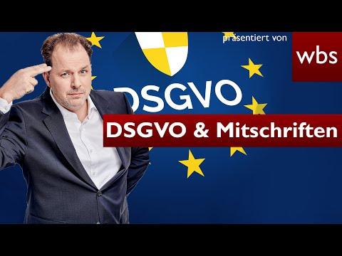 #DSGVO: Auskunft auch für handschriftliche Mitschriften | Rechtsanwalt Christian Solmecke