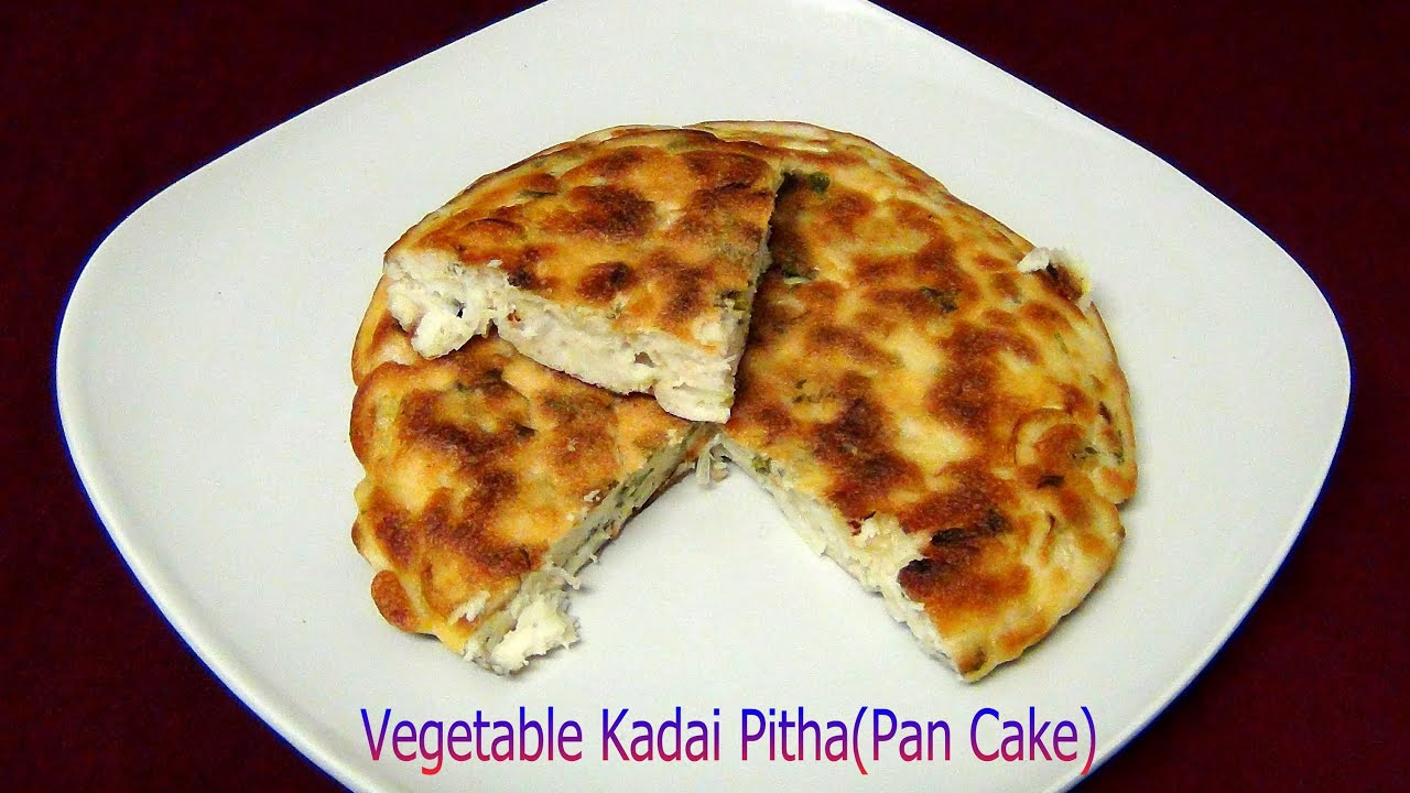 Cake Recipe With Kadai: Veg Kadai Pitha Odia Recipe Video