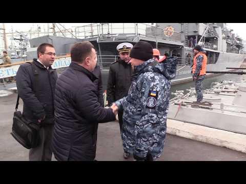 МО України Степан Полторак перевірив ходові можливості МБАК ВМС України