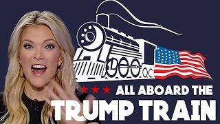 Repeat youtube video Megyn Kelly Quits Fox ANNIHILATED By Trump Train — Joins NBC