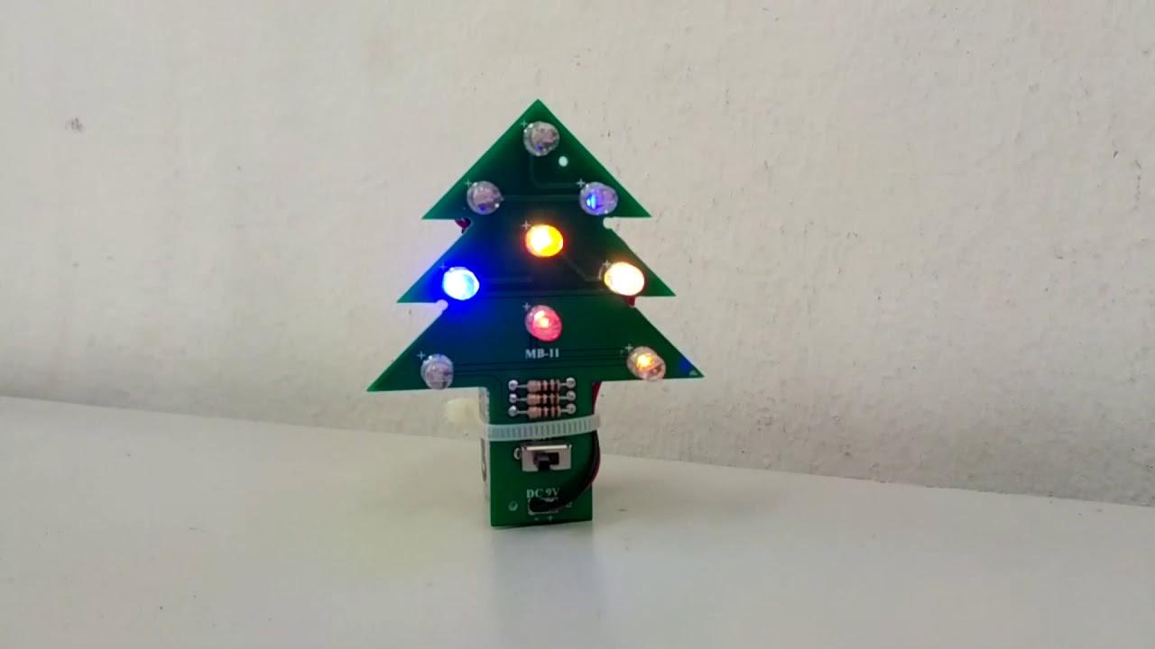 Flashing Ornamental Leds Circuit