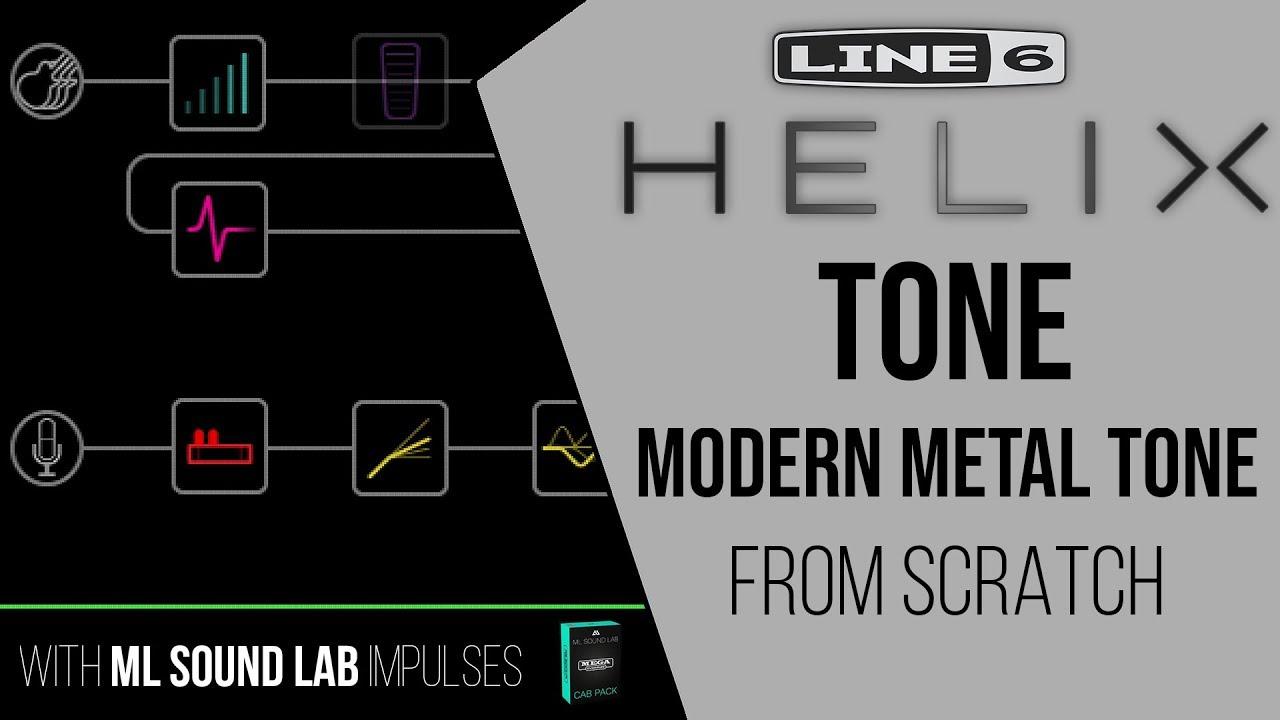 Line 6 Helix Modern Metal Tone from Scratch