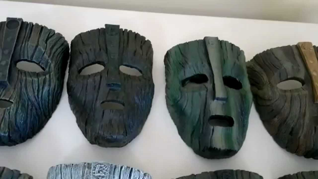 Loki Masks Collection From The Mask Jim Carrey Youtube