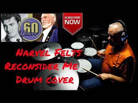 Narvel Felts - Reconsider Me - drum cover by Joey McNew TD30KV (4K)