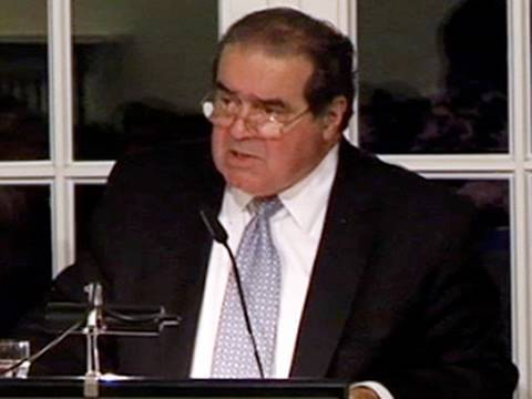 Justice Scalia: Why Should Judges Dictate Natural Law?